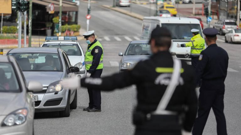 Απαγόρευση κυκλοφορίας : 1.143 παραβάσεις και 9 συλλήψεις σε μία μέρα | tanea.gr