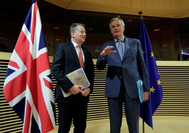 Brexit: Χωρίς… χειραψίες οι διαπραγματεύσεις στις Βρυξέλλες | tanea.gr