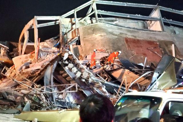 Κίνα: Στους 70 οι εγκλωβισμένοι με κορωνοϊό στο ξενοδοχείο που κατέρρευσε   tanea.gr