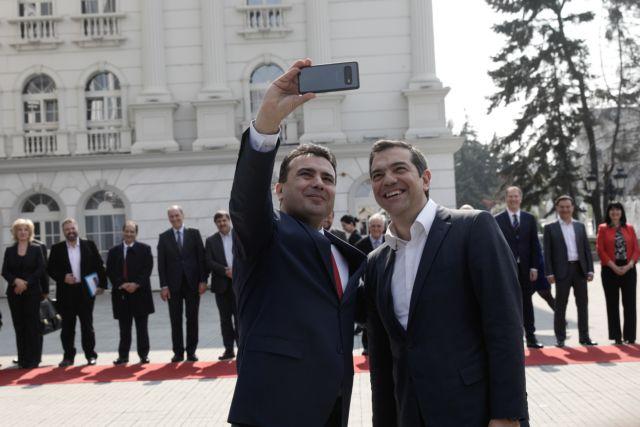 Τσίπρας και Ζάεφ συζήτησαν για το ζήτημα της ένταξης της Βόρειας Μακεδονίας στο ΝΑΤΟ   tanea.gr