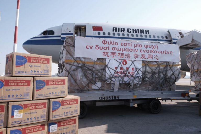Κοροναϊός : Πάνω από 1 εκατ. μάσκες παρέδωσε η Κίνα στην Ελλάδα | tanea.gr