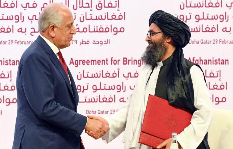Οι ΗΠΑ ζητούν από το Συμβούλιο Ασφαλείας του ΟΗΕ να στηρίξει τη συμφωνία με τους Ταλιμπάν | tanea.gr