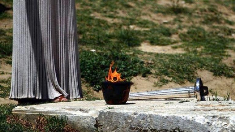 Αρχαία Ολυμπία : Χωρίς θεατές η τελετή Αφής της Ολυμπιακής Φλόγας | tanea.gr