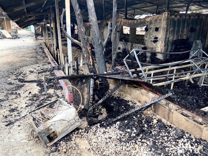 Μυτιλήνη : Ταυτοποιήθηκαν τρεις δράστες του εμπρησμού της προσφυγικής δομής στον Καρά Τεπέ   tanea.gr