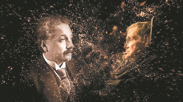 Αϊνστάιν - Χόκινγκ: Ομοιότητες και διαφορές των δύο επιστημόνων | tanea.gr