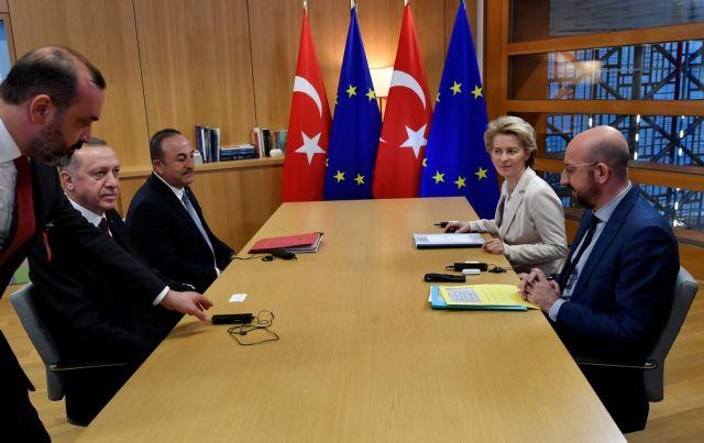 Άρον άρον αποχώρησε από τις Βρυξέλλες ο Ερντογάν – Καμία συμφωνία με την ΕΕ | tanea.gr