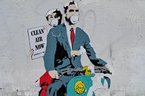 Εκπληκτικά γκράφιτι για τη φονική πανδημία | tanea.gr
