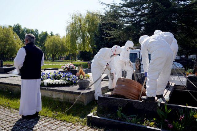 Ο κοροναϊός αλλάζει τα ταφικά έθιμα σε Ιταλία και Ισπανία   tanea.gr