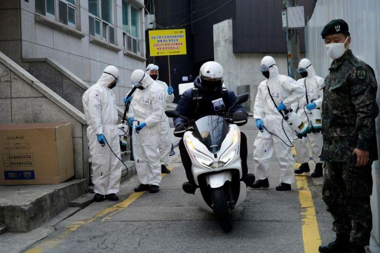 Νότια Κορέα : Επιβεβαιώθηκαν 174 νέα κρούσματα του κορωνοϊού   tanea.gr