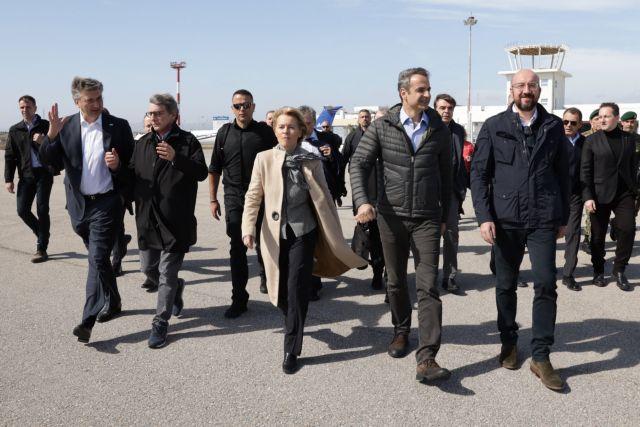 Στο στρατιωτικό φυλάκιο των Καστανιών οι ηγέτες της ΕΕ | tanea.gr