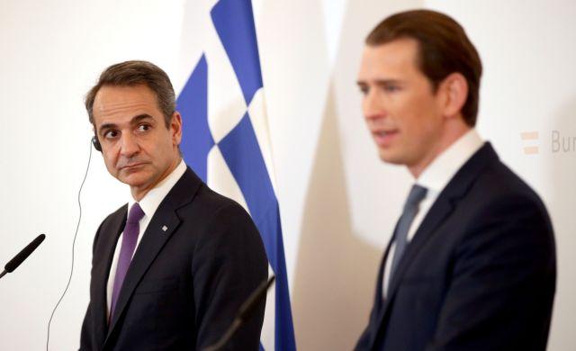 Κουρτς σε Μητσοτάκη: «Ευχαριστούμε την Ελλάδα που προστατεύει τα σύνορά μας» | tanea.gr