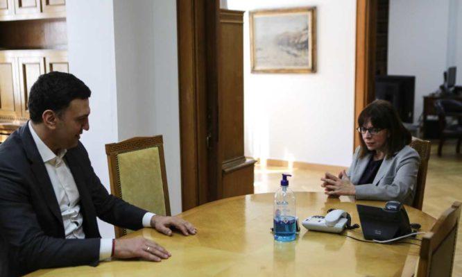 Σακελλαροπούλου : Προσωπική ευθύνη όλων μας να αποδείξουμε ότι μπορούμε να βγούμε νικητές και από αυτήν την περιπέτεια | tanea.gr