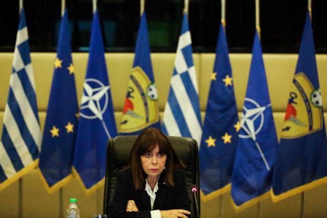 Σακελλαροπούλου από Έβρο: Αποτίω φόρο τιμής στους φύλακες των συνόρων μας | tanea.gr
