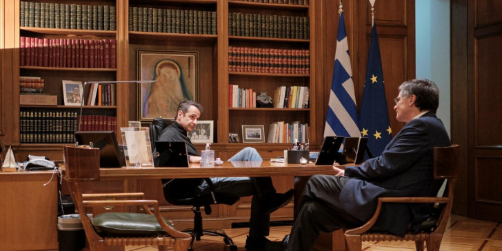 Η στήριξη του Μητσοτάκη στον Τσιόδρα από το βήμα της Βουλής | tanea.gr