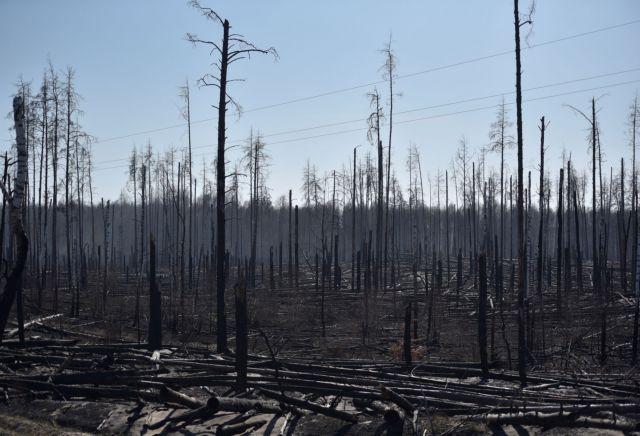 Τσερνόμπιλ : Έσβησε η φωτιά κοντά στο πυρηνικό εργοστάσιο | tanea.gr