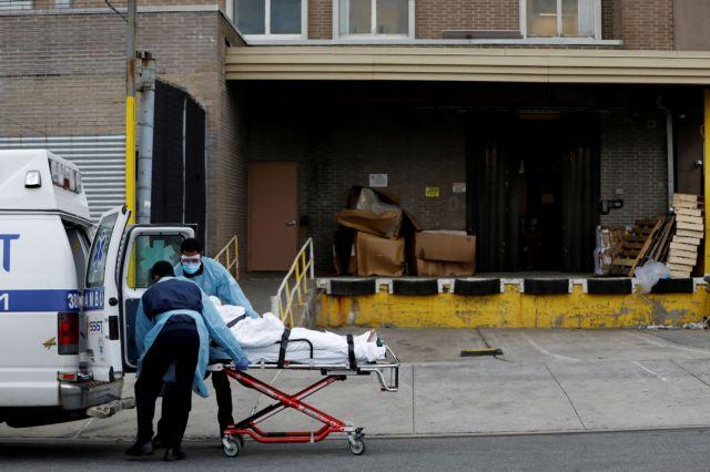 Στους 594 οι νεκροί μέσα σε ένα σε 24ωρο στη Νέα Υόρκη | tanea.gr