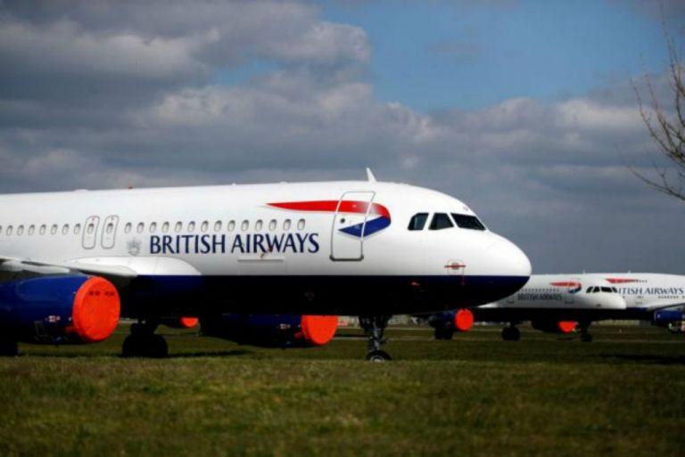 Βρετανία : Η British Airways θέτει σε διαθεσιμότητα 36.000 εργαζόμενους   tanea.gr
