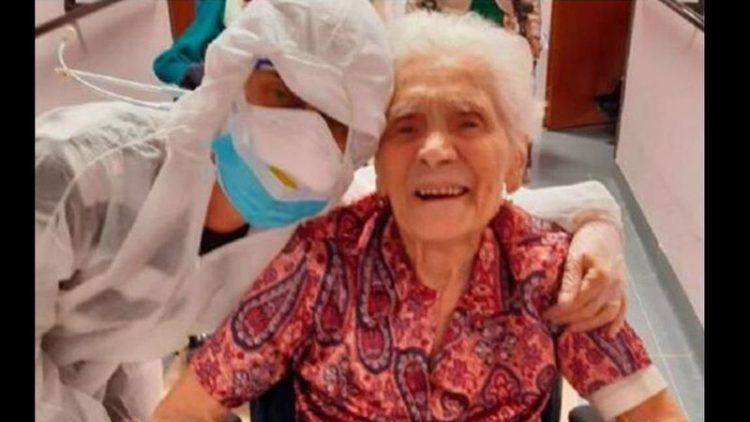 Γιαγιά 104 ετών, επέζησε από την ισπανική γρίπη και από τον covid -19 | tanea.gr