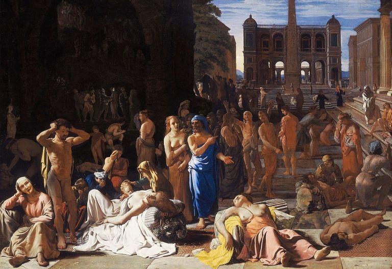 Ο λοιμός της Αθήνας το 430 π.χ. - «Αποκαμωμένοι παρατούσαν τα μοιρολόγια...» | tanea.gr