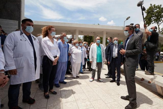Μητσοτάκης στο ΑΧΕΠΑ: Η πανδημία «προίκισε» το ΕΣΥ | tanea.gr