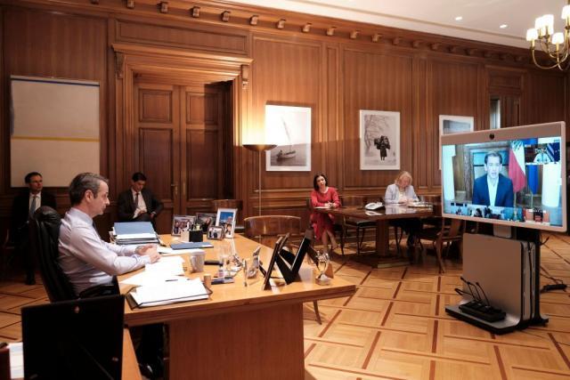 Τηλεδιάσκεψη Μητσοτάκη με τους ηγέτες των 7 χωρών που διαχειρίστηκαν επιτυχώς την πανδημία | tanea.gr