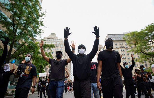 Δολοφονία Φλόιντ : Δεκάδες διαδηλώσεις στις ΗΠΑ - Έφτασαν μέχρι τον Λευκό Οίκο | tanea.gr