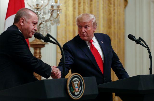 Τηλεφωνική συνομιλία Τραμπ – Ερντογάν - Μίλησαν για Λιβύη και Συρία   tanea.gr