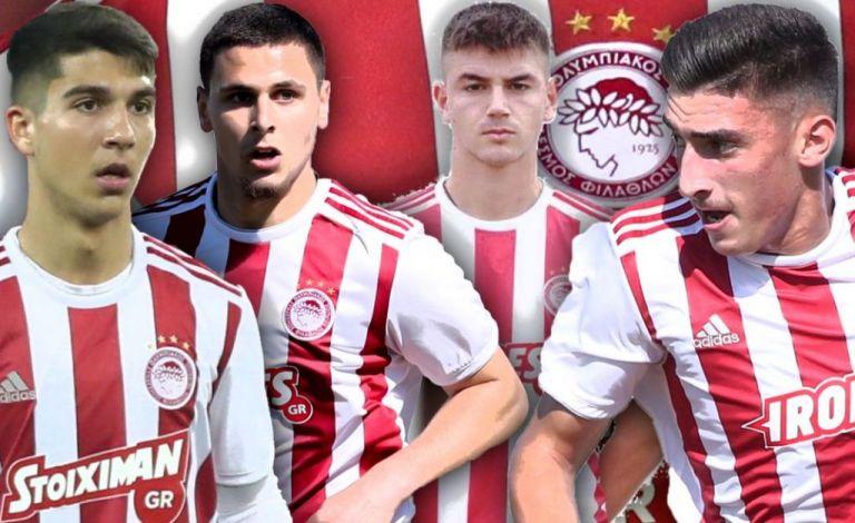 Ολυμπιακός : Οι τέσσερις «μικροί» που επέλεξε ο Μαρτίνς για την πρώτη ομάδα   tanea.gr