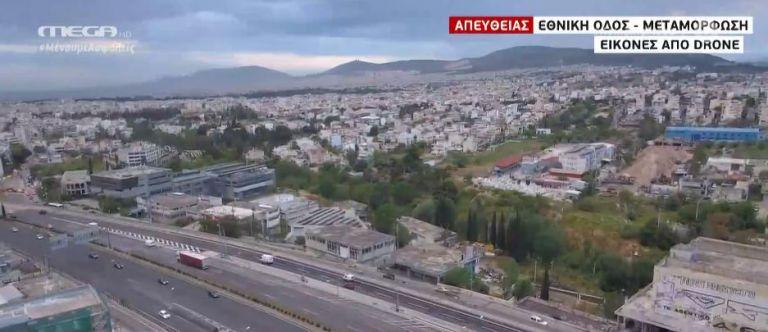 Με αυξημένη κίνηση η επιστροφή στην ομαλότητα – Εικόνες από το drone του MEGA | tanea.gr