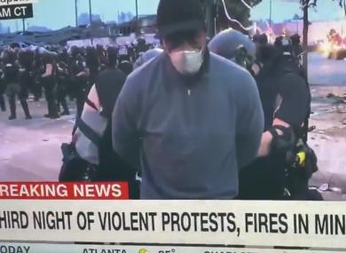 Μινεάπολις : Συνέλαβαν Αφροαμερικάνο δημοσιογράφο του CNN on air   tanea.gr