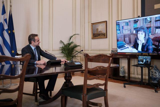 «Γέφυρα Ασφαλείας» : Ο Μητσοτάκης ενημερώνει την ΠτΔ για το κυβερνητικό σχέδιο | tanea.gr