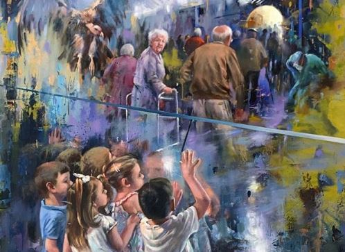 Το συγκινητικό αντίο σε γιαγιάδες και παππούδες - θύματα του κοροναϊού από Ισπανό καλλιτέχνη | tanea.gr