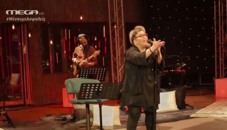 Η Δήμητρα Γαλάνη στο MEGA με αφιέρωμα στο ερωτικό τραγούδι | tanea.gr