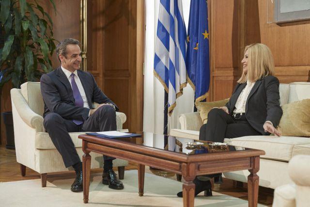 Ο Μητσοτάκης επιλέγει την Γεννηματά για πολιτική αντιπαράθεση   tanea.gr