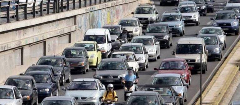 Με χαμηλές ταχύτητες η κίνηση των οχημάτων - Δείτε που υπάρχουν προβλήματα | tanea.gr