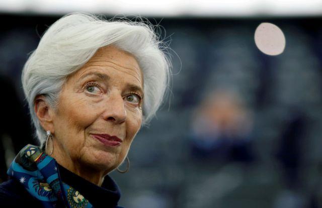 Λαγκάρντ : Ύφεση ακόμη και 12,6% στην ευρωζώνη φέτος | tanea.gr
