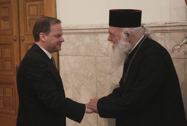 Συνάντηση Ιερώνυμου με υπουργό Μεταφορών | tanea.gr