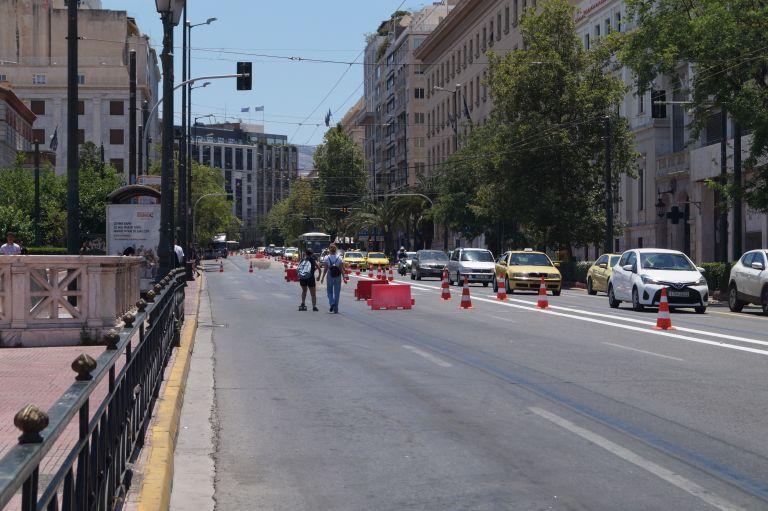 Μεγάλος Περίπατος: Oι πρώτες αλλαγές στην Πανεπιστημίου | tanea.gr