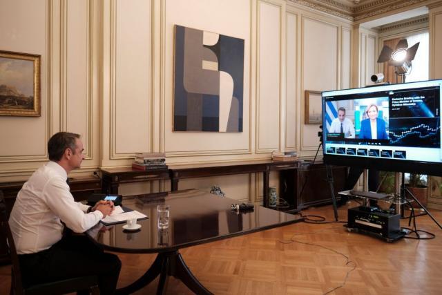 Μητσοτάκης στο Bloomberg: Χρονιά ισχυρής ανάκαμψης για την Ελλάδα το 2021 | tanea.gr