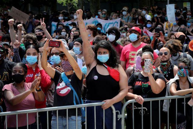 Νέα Υόρκη: Φοβάται για τον κοροναϊό, ζητεί από τους διαδηλωτές να εξεταστούν   tanea.gr