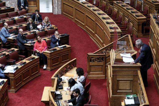 Αναβολή της ψηφοφορίας στη Βουλή ζητούν οι συνήγοροι του Παπαγγελόπουλου   tanea.gr