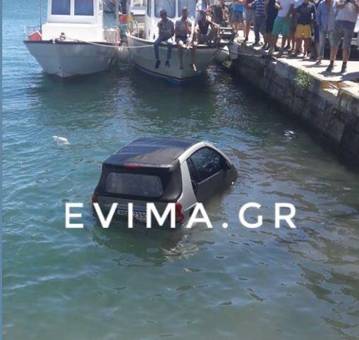 Κάρυστος: Ο αέρας πήρε αυτοκίνητο και το έριξε στη θάλασσα | tanea.gr