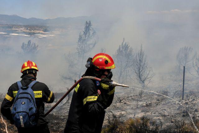 Μεγάλη φωτιά στο Κόρθι της  Άνδρου | tanea.gr