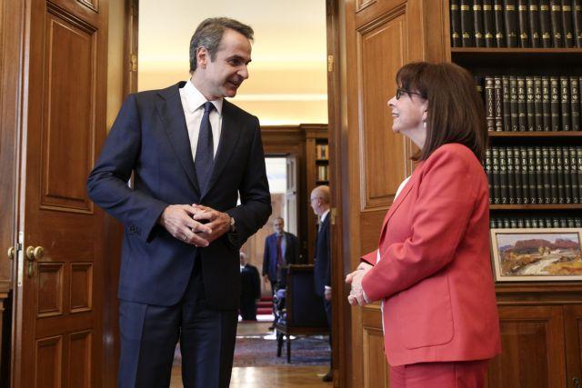 Νέα συνάντηση Σακελλαροπούλου με Μητσοτάκη | tanea.gr