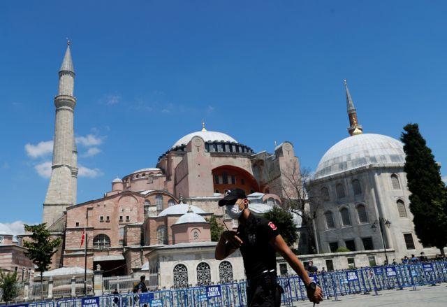 Τη μετατροπή της Αγίας Σοφίας σε τζαμί καταδικάζει το δημοτικό συμβούλιο Θεσσαλονίκης | tanea.gr