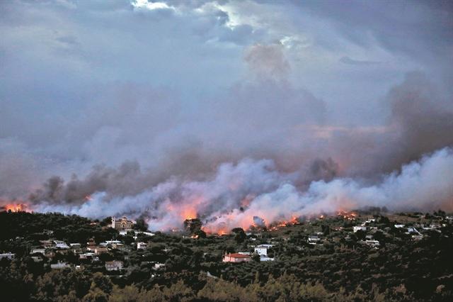 Μελέτη: Νέα όρια για την εκτίμηση του βαθμού επικινδυνότητας των δασικών πυρκαγιών | tanea.gr