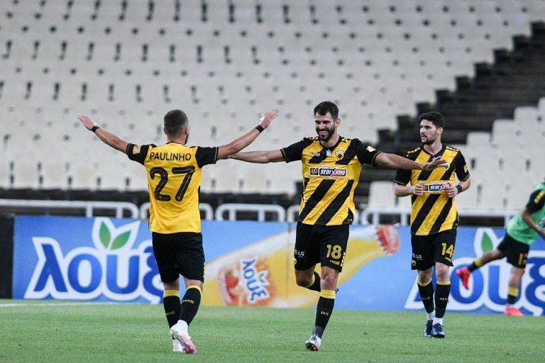 «Κλειδώνει» την δεύτερη θέση η ΑΕΚ (2-0)   tanea.gr