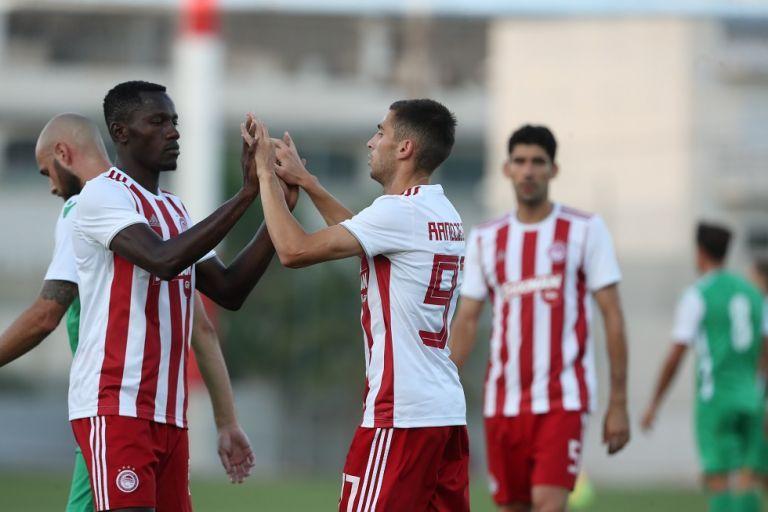 Σκόραρε ο Ραντζέλοβιτς, 3-0 ο Ολυμπιακός | tanea.gr