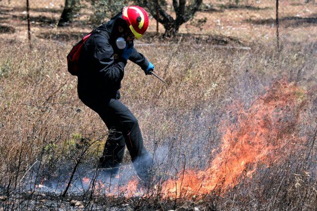 Σε ποιες περιοχές υπάρχει πολύ υψηλός κίνδυνος πυρκαγιάς την Τρίτη   tanea.gr