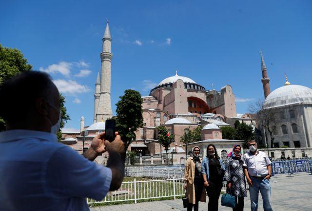 Ανάλυση FT: Γιατί ο Ερντογάν έκανε τζαμί την Αγία Σοφία   tanea.gr
